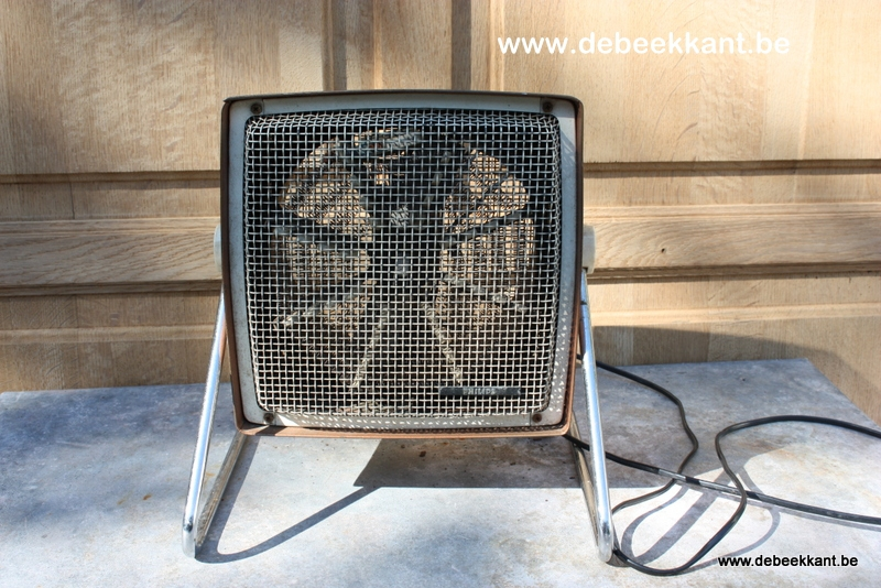 Retro ventilator warm koud blazer Philips jaren 60