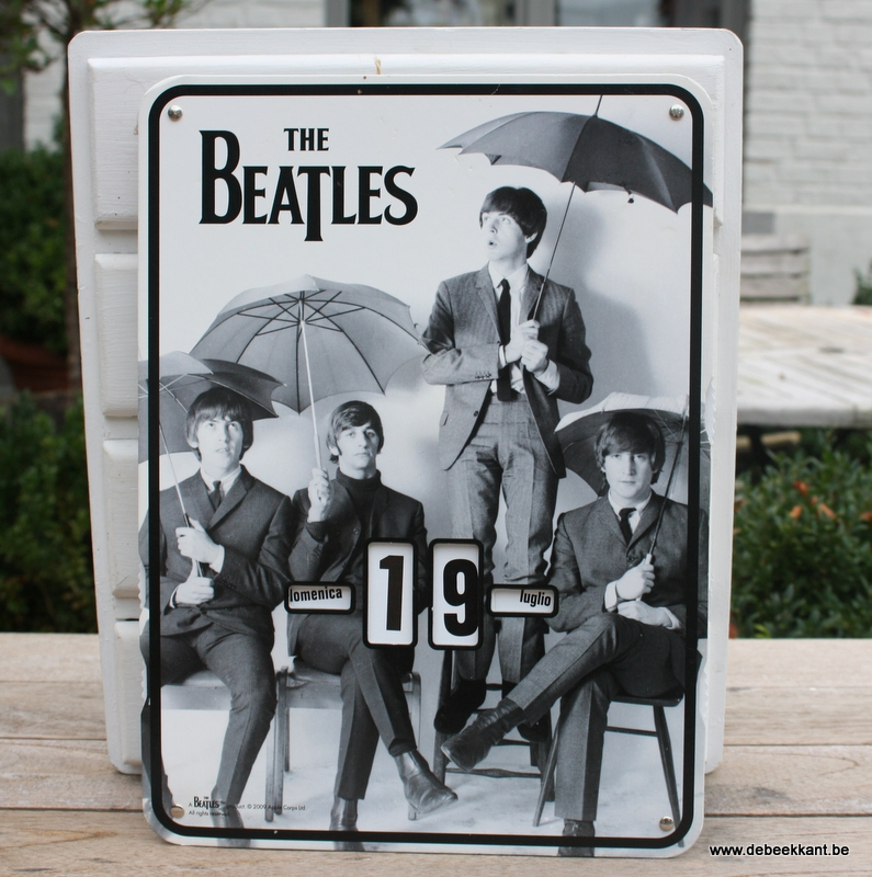 Retro kalender the beatles 2009