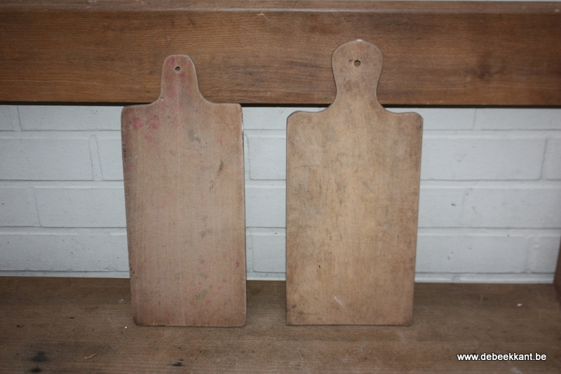 Antieke oude brocante snijplank