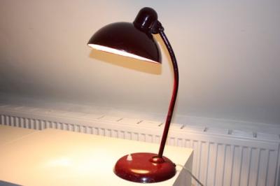 Antieke bureaulamp KAISER IDELL