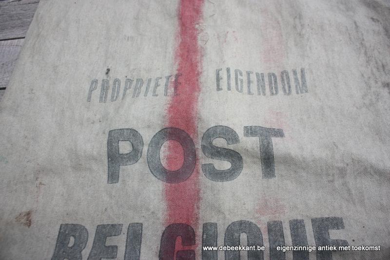 Retro vintage zak Belgische Post 1983