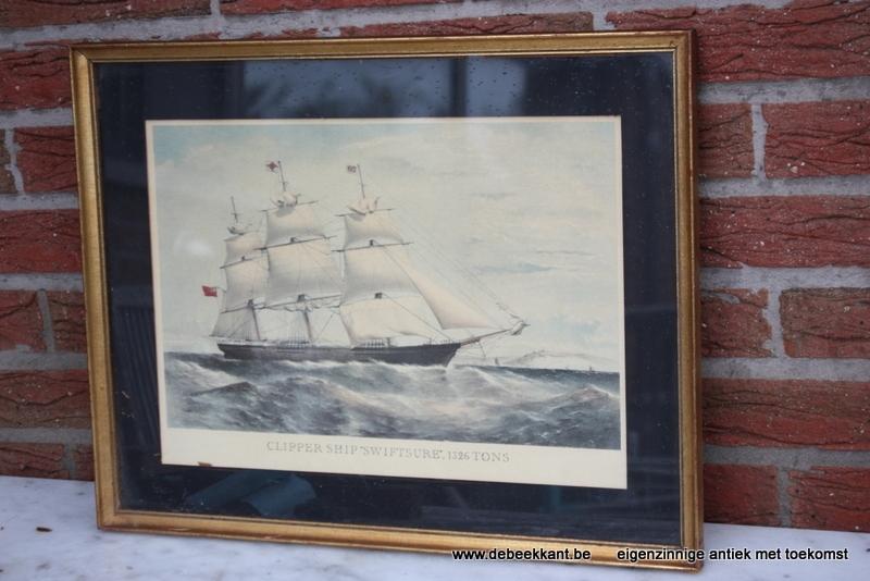 Retro kader clipper ship 'swiftsure' 1326 tons