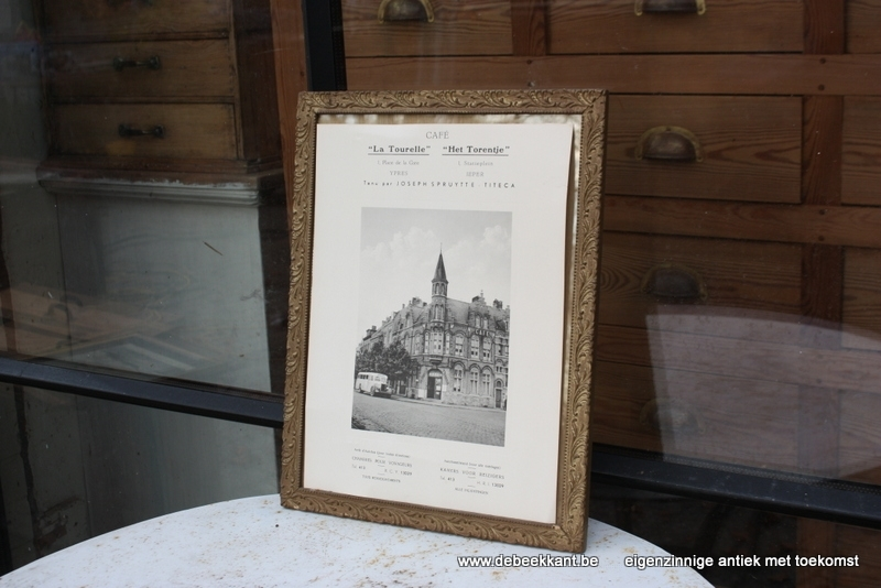 Reclame Café het torentje la Tourelle