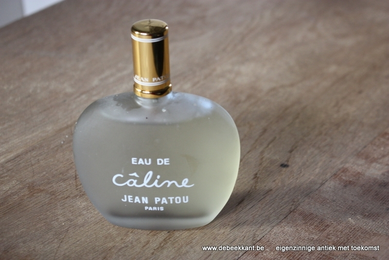 Vintage factice dummy Eau de caline Jean Patou Paris
