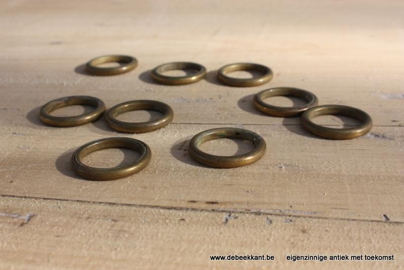 Antieke koperen ringen klein model