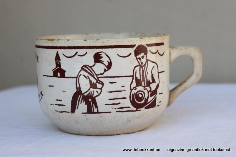 Antieke tas Angelus café extra