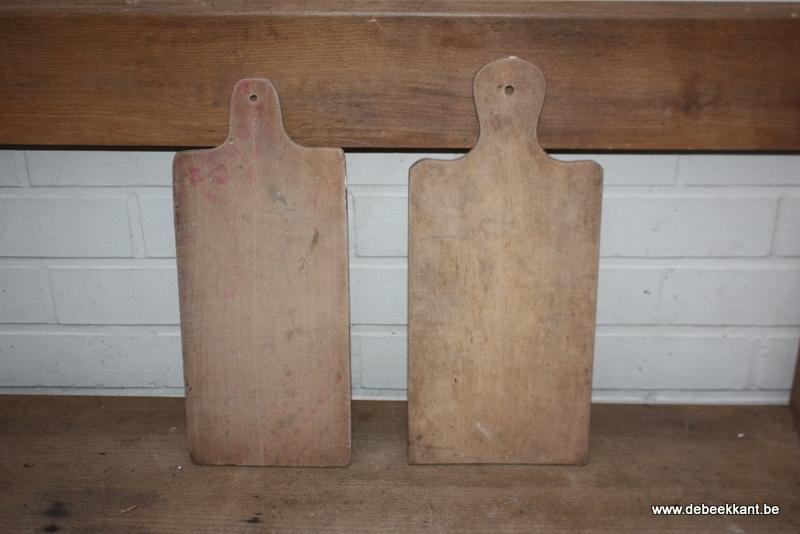 Antieke houten snijplank