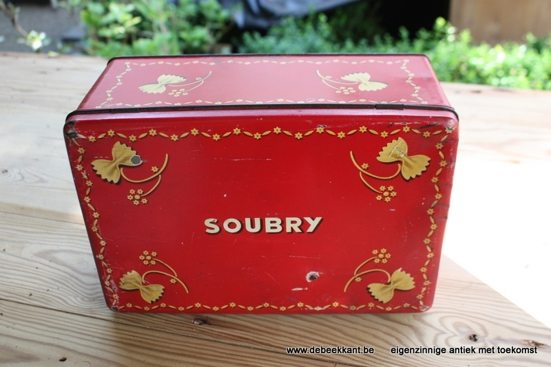 Blikken doos Soubry