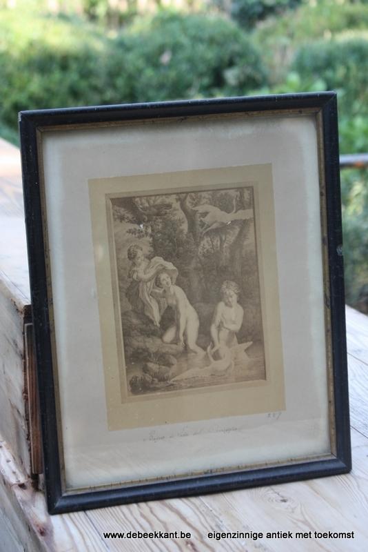 Antieke gravure