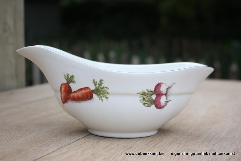 Antieke sauskom groenten