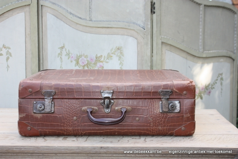 Antieke Franse valies