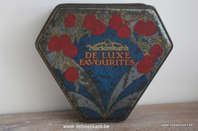 Brocante blikken doos van Mackintosh de luxe favourites