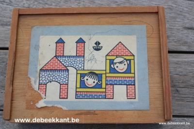 Vintage blokkendoos van Vero