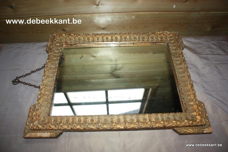 Antieke Brocante Spiegel.Producten De Beekkant